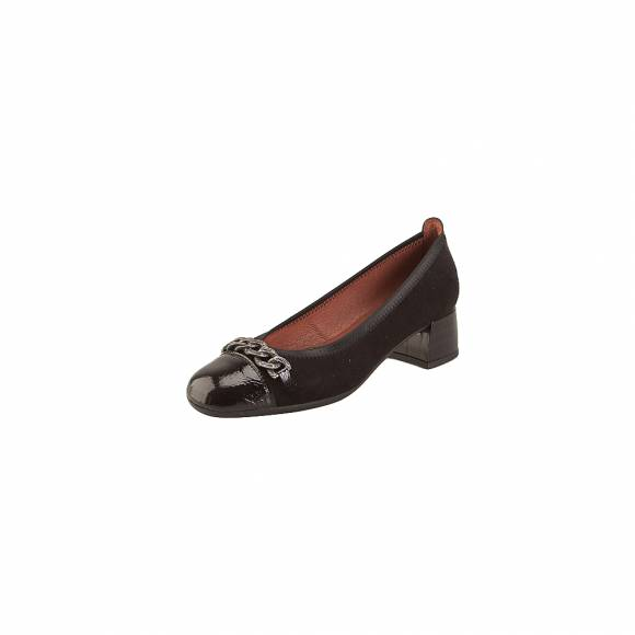 Hispanitas H187922 ante 18 Black suede