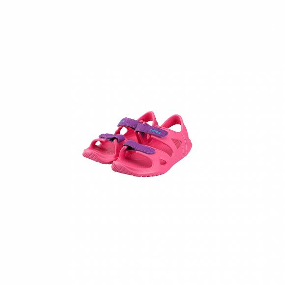 CROCS 204988-60O SWIFTWATER RIVER SANDAL KIDS PARADISE PINK AMETHYST RELAXED FIT