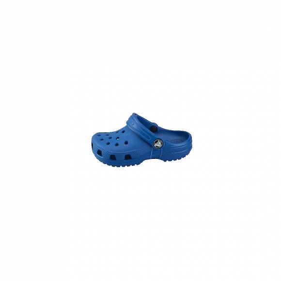 CROCS 204536-4GX CLASSIC CLOG KIDS BLUE JEANS ROOMY FIT