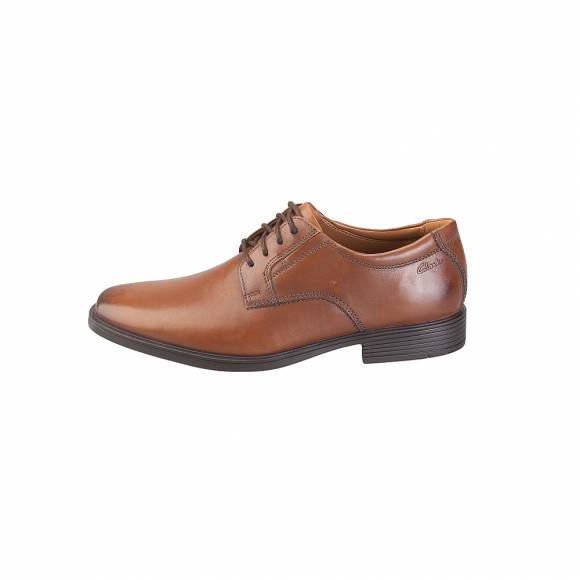 Clarks Tilden Plain  26130097 Dark Tan