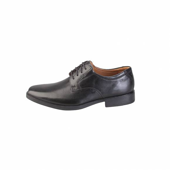 Clarks Tilden Plain 26130097 Black Leather