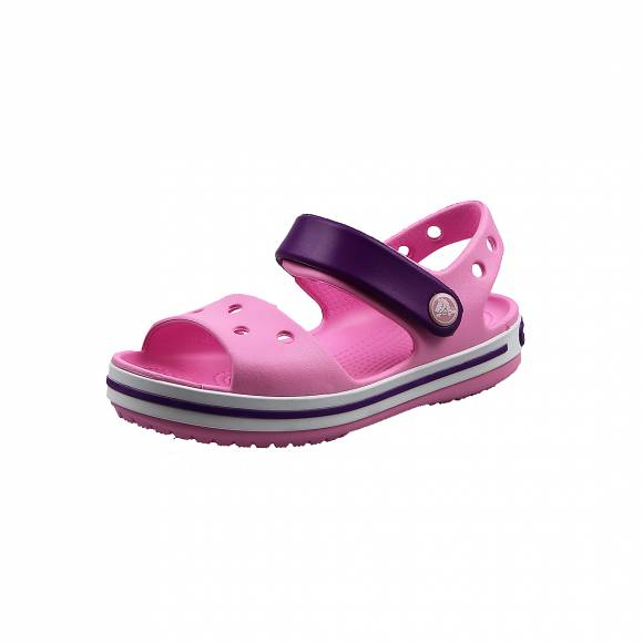 Παιδικά Σανδάλια Crocs 12856 6AI Crocband Sandal kids Carnation Amethyst relaxed fit