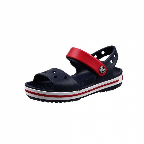 Παιδικά Σανδάλια Crocs 12856 485 Crocband Sandal kids Navy Blue relaxed fit