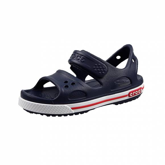 Παιδικά Σανδάλια Crocs 14854 462 crocband II Navy White sandal ps relaxed fit