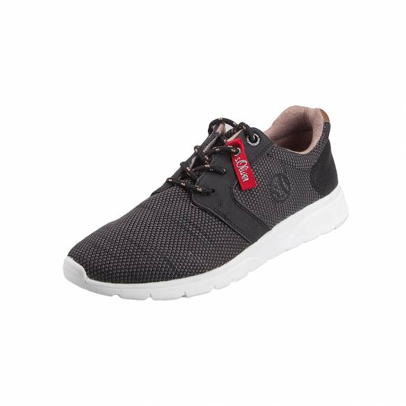Ανδρικά Sneakers S.Oliver 5 13618 22 021 Black Grey