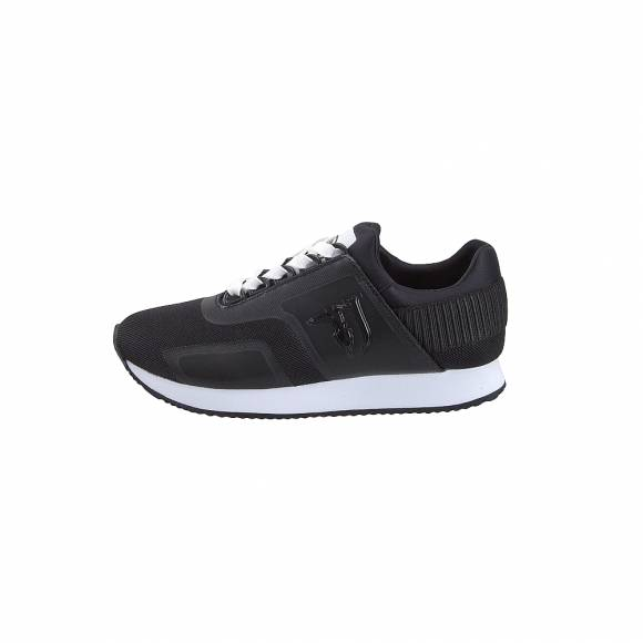 Γυναικεία Sneakers Trussardi Running Nylon Mesh Shiny Neoprene Black 79A003289Y099999 K299