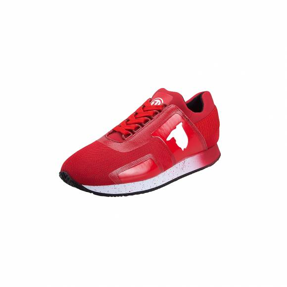 Ανδρικά Sneakers Trussardi Running Nylon Mesh Shiny Neoprene Red 77A00154 9Y099999