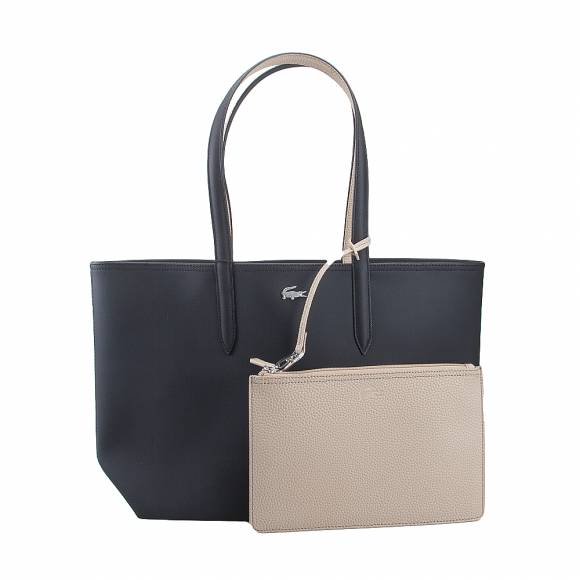 eef7f4428fcb0 ... Lacoste NF2142AA A91 Black warm sand shopping bag