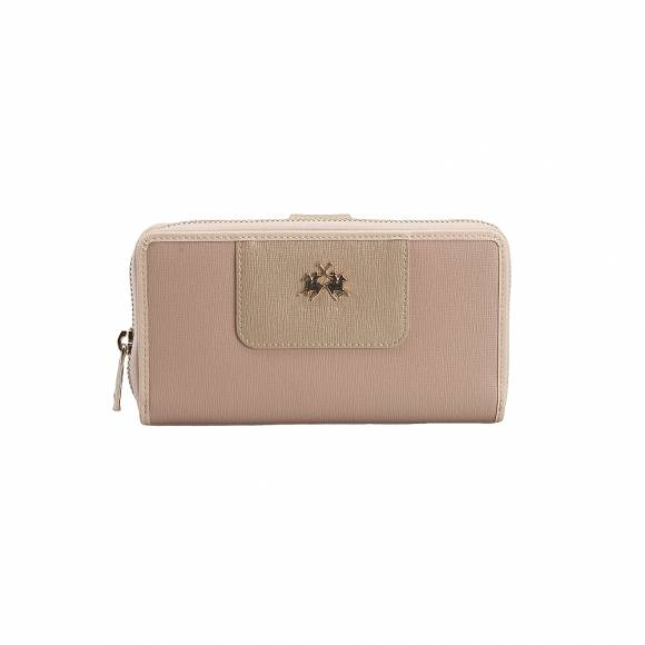 La Martina 41W163 N001T4134 Starfish Wheat Gold woman wallet La Portena