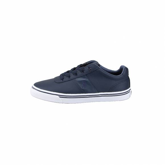 Ανδρικά Δερμάτινα Sneakers Polo Ralph Lauren Hanford nwpt Navy 816168180899