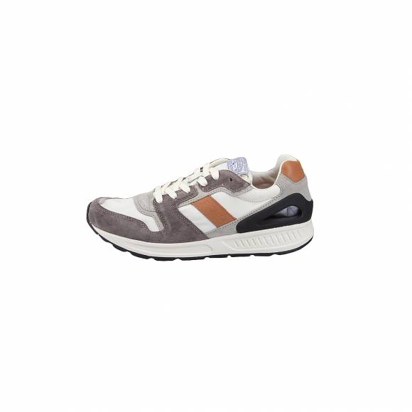 Ανδρικά Δερμάτινα Sneakers Polo Ralph Lauren Train100 cls sk ath Grey 809710298004