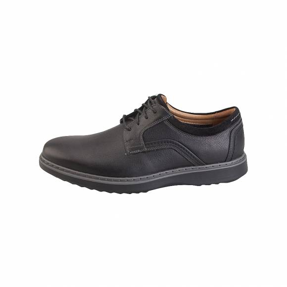Clarks Unstructured Un Geo Lace 26136809 Black Leather