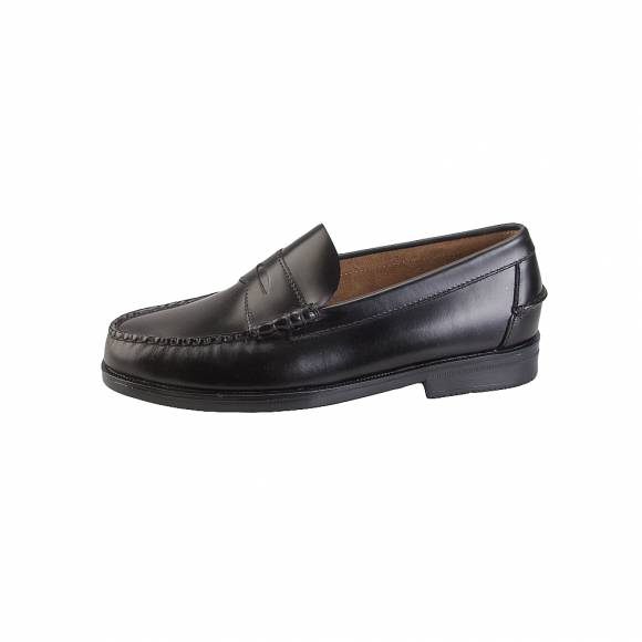 Sebago Grant B70767 Black Leather