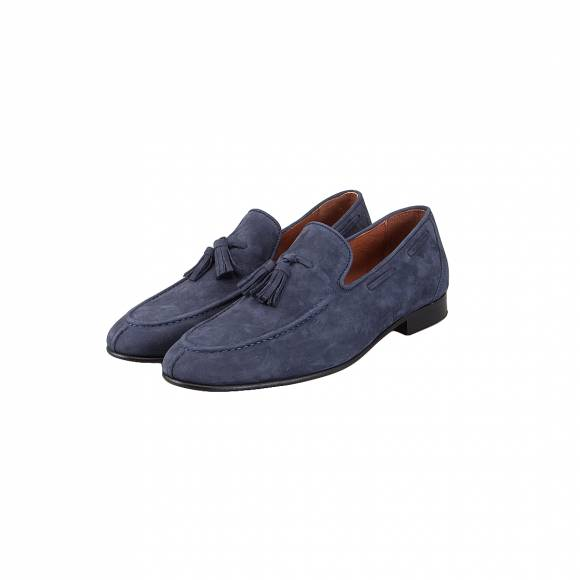 DAMIANI 591 BLUE SUEDE