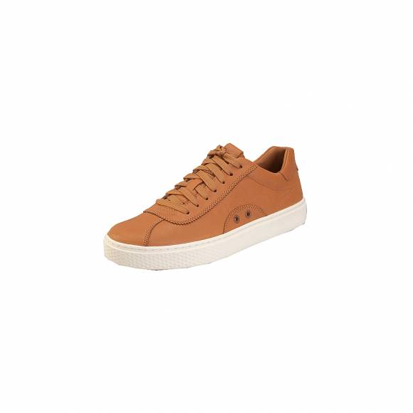 Ανδρικά Δερμάτινα Sneakers Polo Ralh Lauren 809710574004 Court100 Lux sk ath Cla Tan