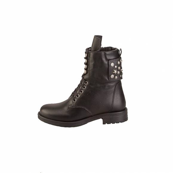 Esthissis X4271 TOP128A D Black leather
