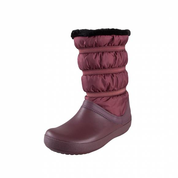 Crocs crocband winter boot w burgundy fit 205314 605