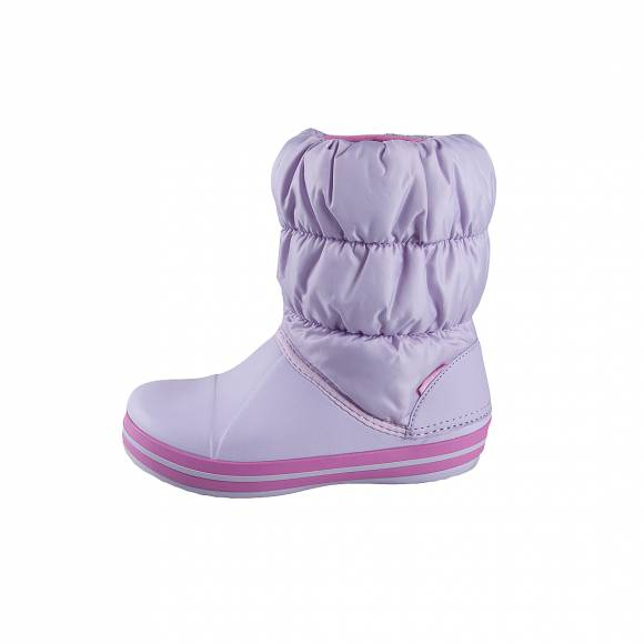 Crocs winter puff boots kids levender relaxed fit 14613 530