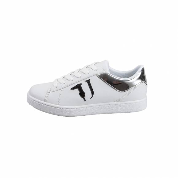 Γυναικεία Sneakers Trussardi Jeans Sneakers Synthetic Leather/Laminated Synthetic Leather  79A00387 9Y099999 K299 Tj Logo Black