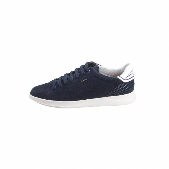 c3afa07bf94 Ανδρικά Δερμάτινα Sneakers Geox U926FB 00022 C4002 Kennet suede Navy  sneakers ...