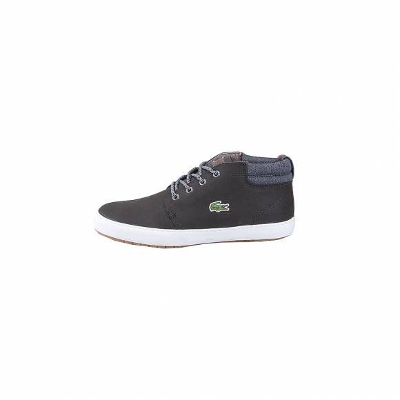 Lacoste Ampthill Terra 318 1 Cam 7 36CAM005231 Blk Gry Lth Syn Txt