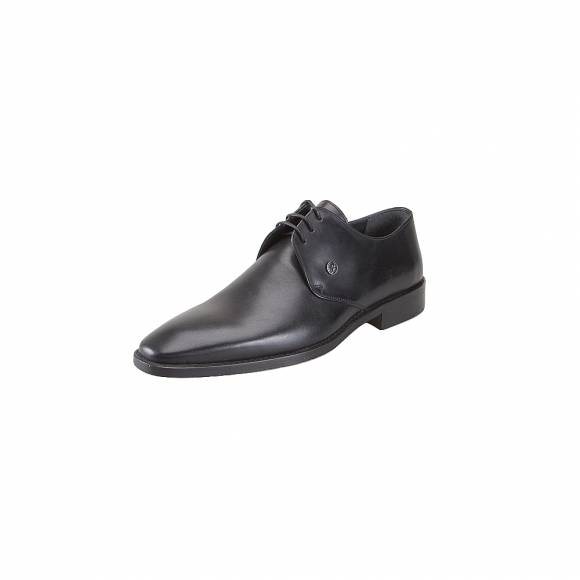 GK Uomo 7322 34 Black Leather