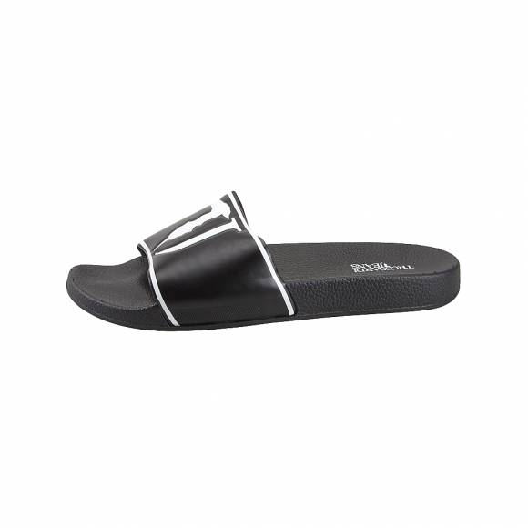 Ανδρικές σαγιονάρες Trussardi 79A00377 9Y099999 Black slipper with rubber TJ