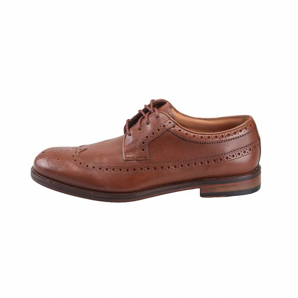 Ανδρικά Δερμάτινα Oxford Clarks Colling Limit 26142081 7 070 British Tan leather