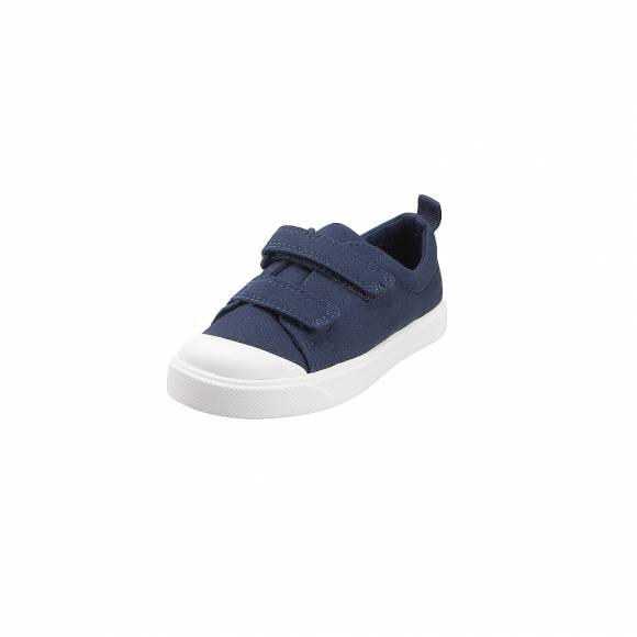 Παιδικά Sneakers Clarks City Flarelo T Navy canvas 26141584 7 050