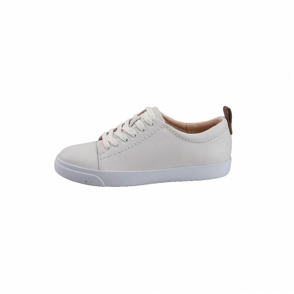 Γυναικεία Δερμάτινα Sneakers Clarks 26118637 Glove Echo White leather