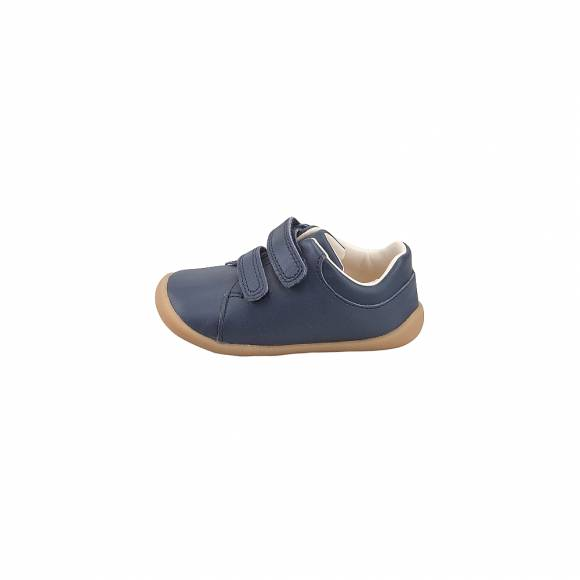Παιδικά Δερμάτινα Sneakers Clarks Roamer Craft T 26142286 Navy leather