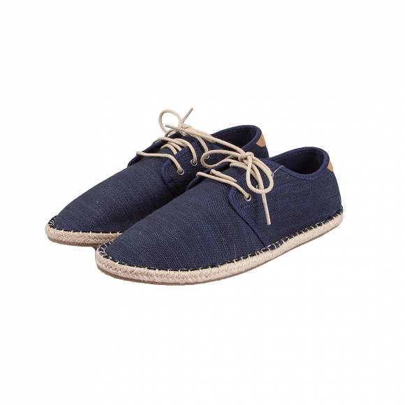 TOMS DIEGO NAVY SLUBBY COTTON 0011607
