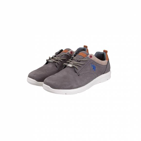 US POLO ASSN SERGE1 BRW SUEDE