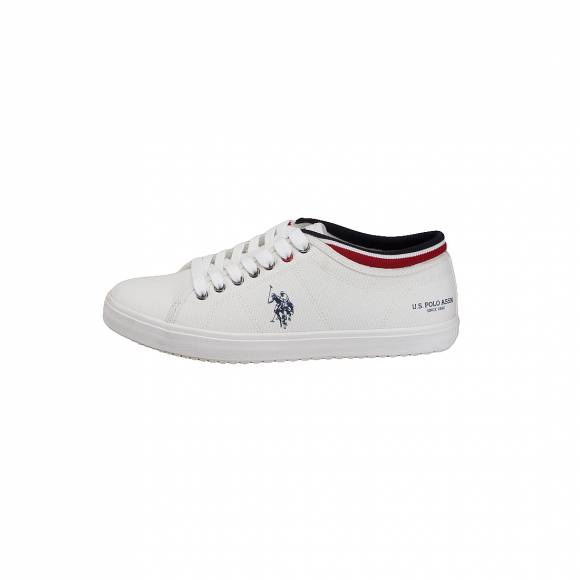 US POLO ASSN STEWART1 TEXTILE WHITE
