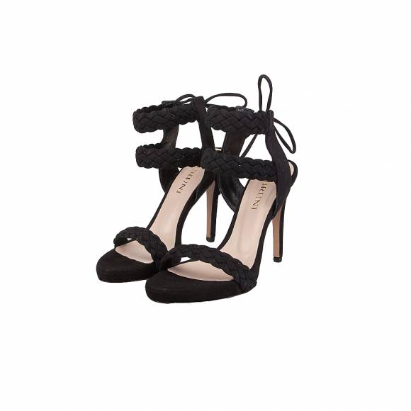 BRUNI 1608 BLACK SUEDE
