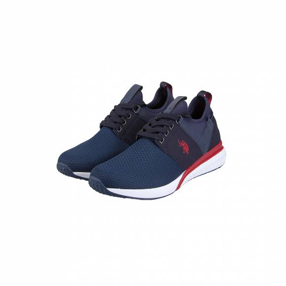 US POLO ASSN TEVEZ BLUE/RED