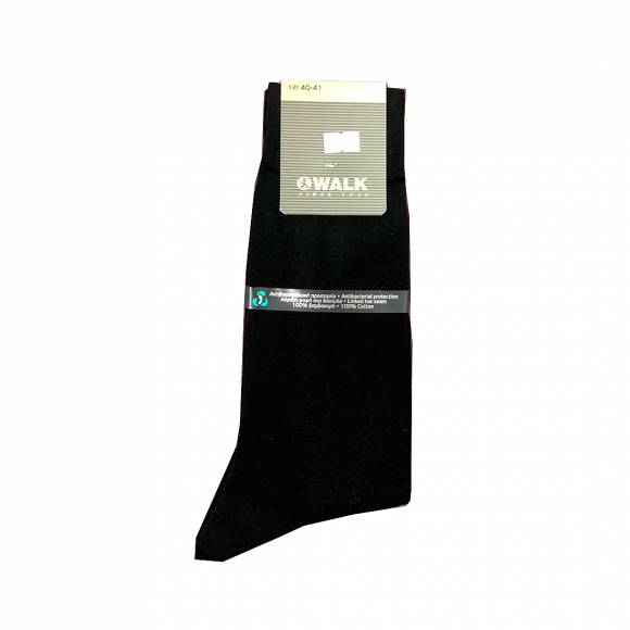 Walk socks W100 Black Cotton
