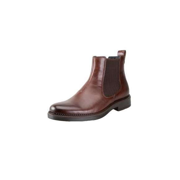 Ecco Newcastle 610314 02482 Cocoa Brown Leather