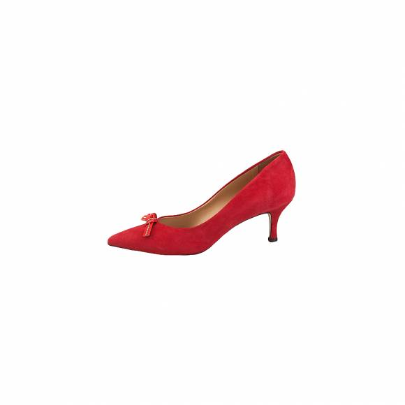 Bruni 375 Red suede
