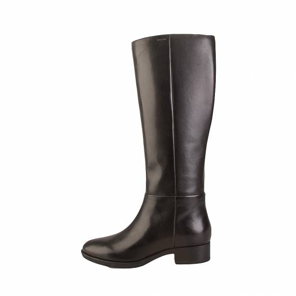 Geox D84G1D 00043 C9999 Felicity smo leather Black boots