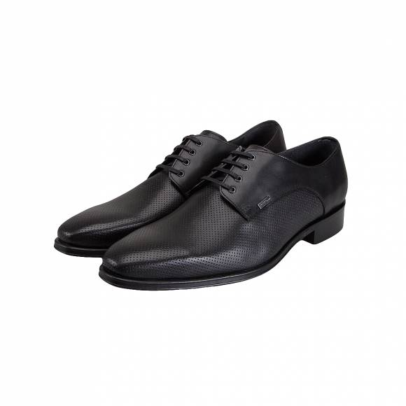 BOSS SHOES J5534 BLACK PERFO