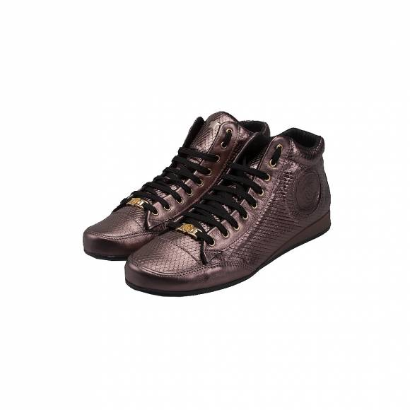 TOUTOUNIS F2185 BLACK LEATHER MENSA LEPI