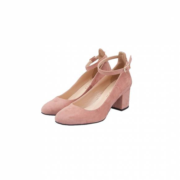 MOODS SHOES 1409 NUDE SUEDE