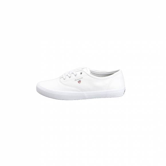 GANT NEW HAVEN 16531408 LEATHER G290 BRIGHT WHITE