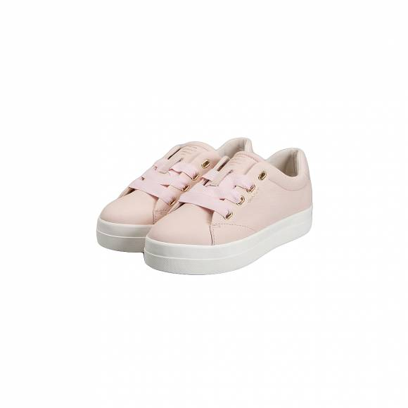 GANT AMANDA 16531440 LEATHER G584 SILVER PINK
