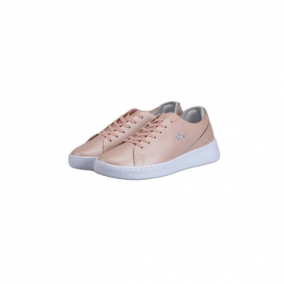 LACOSTE EYYLA 118 1 CAW NAT/LT GRY LEATHER 7-35CAW0004NL7