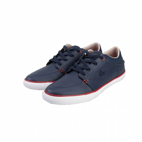 LACOSTE BAYLISS VULC 117 1 CAM NVY LTH/SYN 7-33CAM1036003
