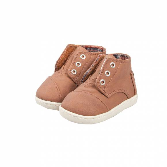 TOMS PASEO MID BROWN SYNTHETIC LEATHER 10002678