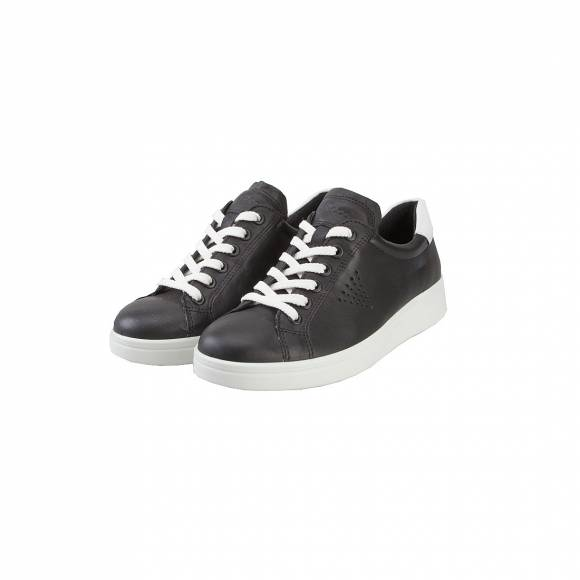 ECCO 21803350669 SOFT 4 BLACK WHITE