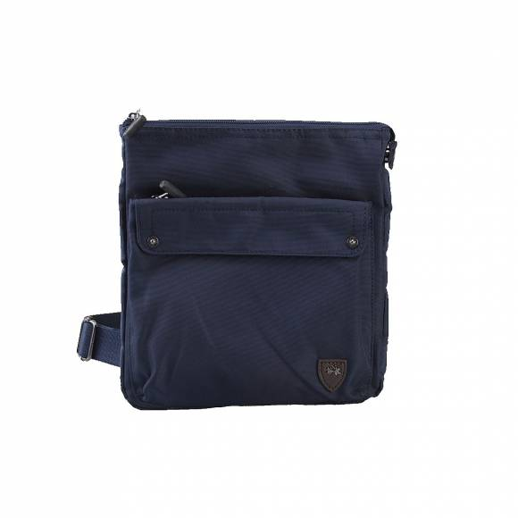LA MARTINA BODY BAG 41JBA2 M2204 NAVY BLUE